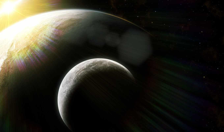ассорти, широкоформатные, planets,