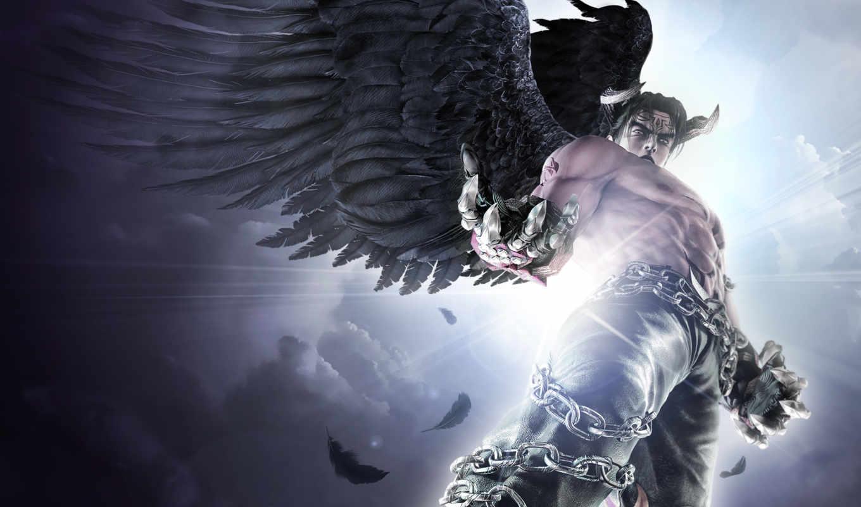 tekken, devil, jin, игры, dark, resurrection, game, games,