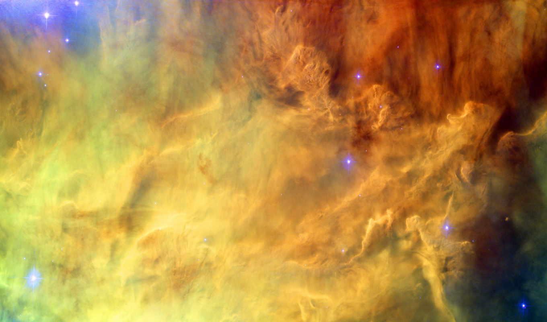 хаббл, telescope, телескопа, года, орбиту, году, туманности, за,