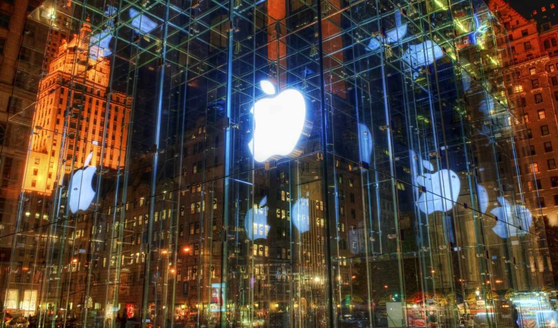обои, apple, магазин, ipod, iphone, яблоко, mac, ф