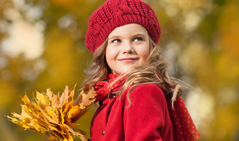 blonde, девушка, улыбка, взгляд, шубка, осень,
