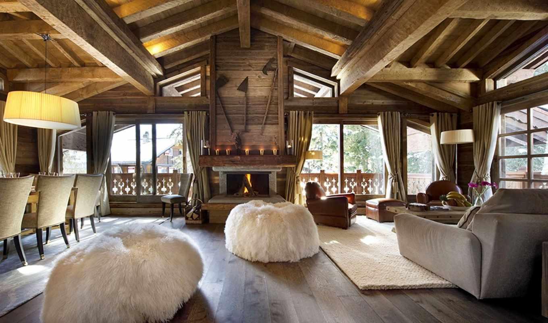 chalet, interer, строительство, les, отель, design, dekor, gentianes, dizain,