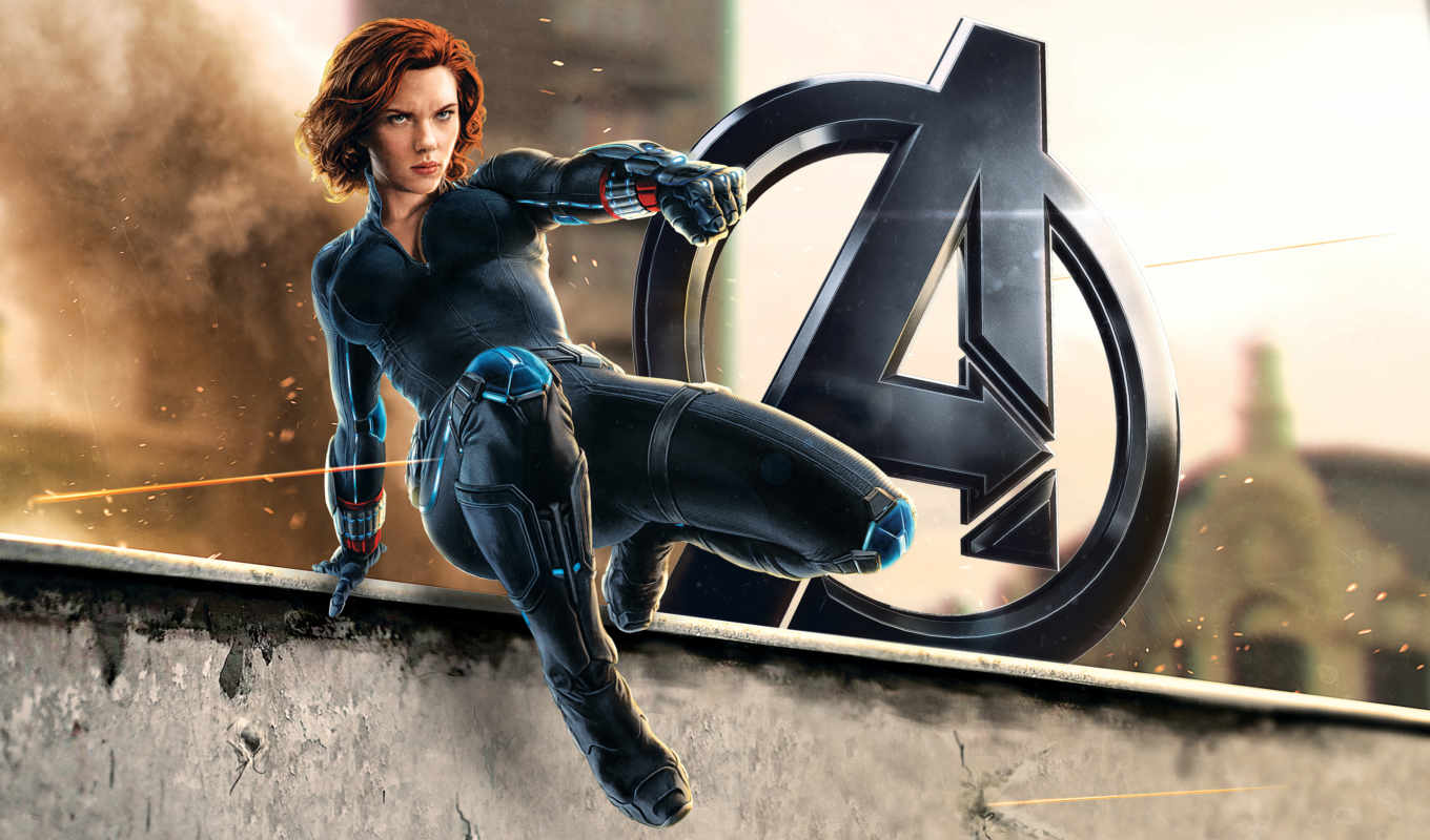 альтрона, era, мстители, promo, avengers, widow, ultron, black, age, фильма,