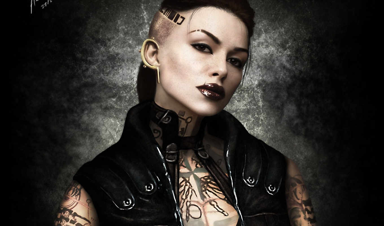 mass, effect, jack, джек, девушка, тату, art, татуировки, shepard,
