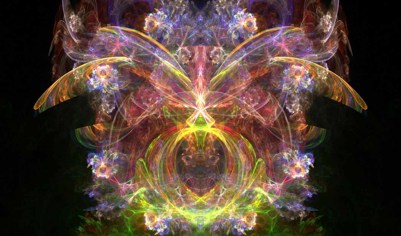 abstract, абстрактные, nen, flowerings, название, hinh, бабочка, абстракция,