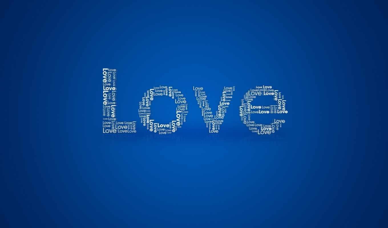 love, синий, надпись, текстуры, valentines, amor, day,