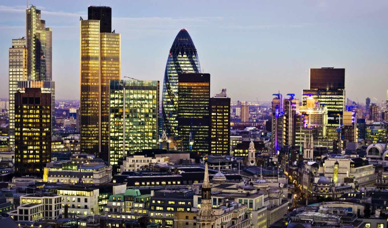 london, город, англия, свет, вечер, great, financial,