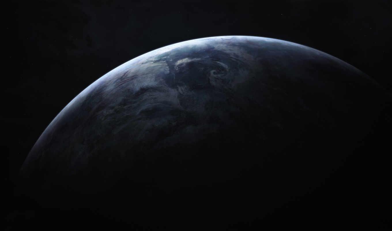 cosmos, planet, land, космос, звезды, darkness,
