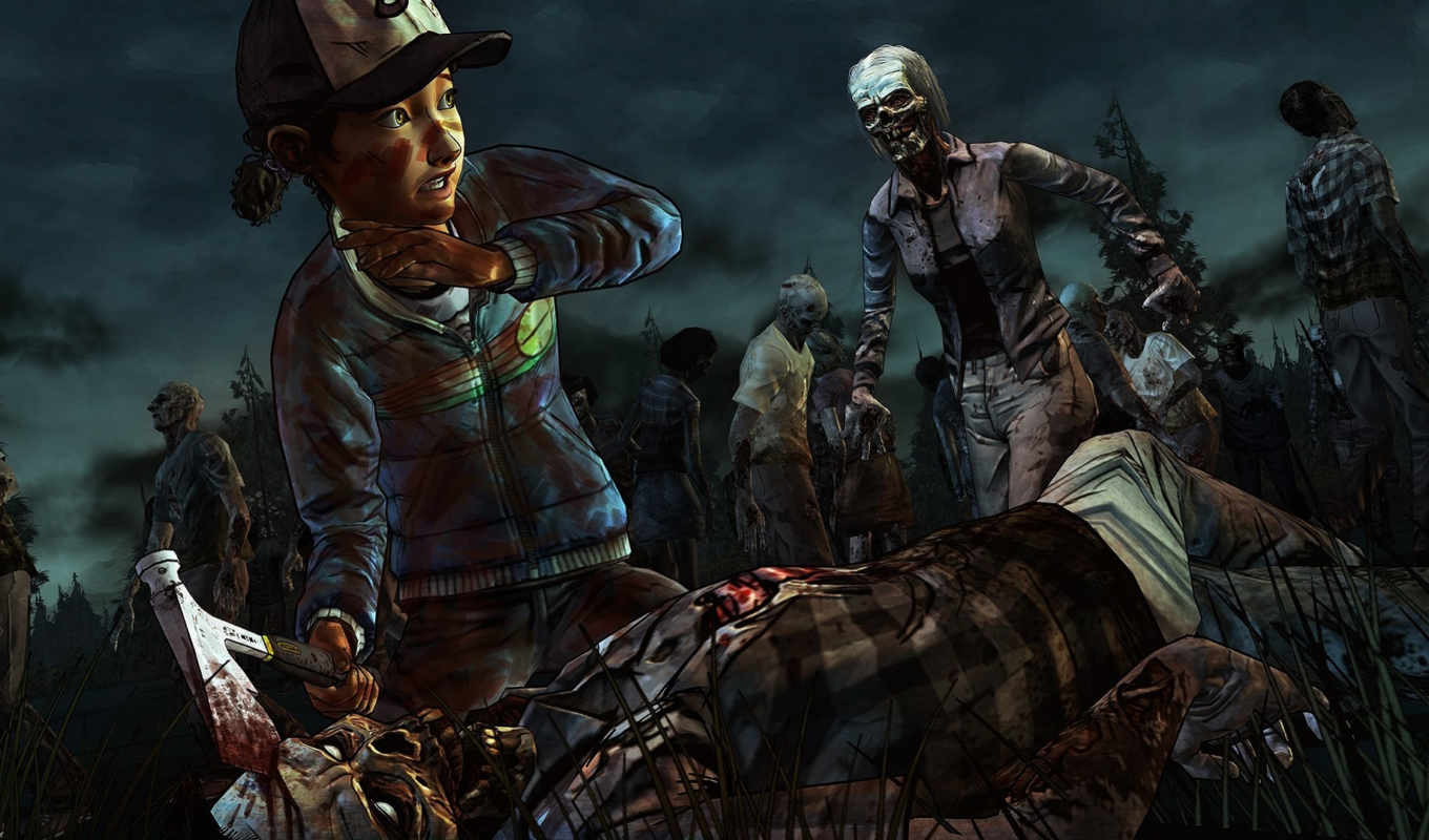 game, walking, dead, clementine, tags, video, related,