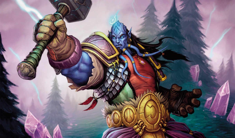 warcraft, world, tapety, wow, паладин, если, дреней, shaman, то, игры, trading, паладины, есть, рейде,