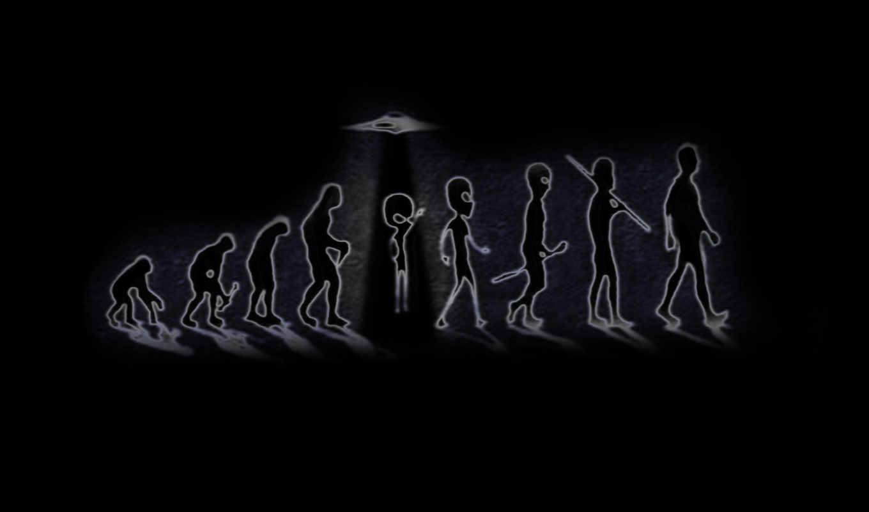 происхождение, эволюция, обезьяна, человек, нло,