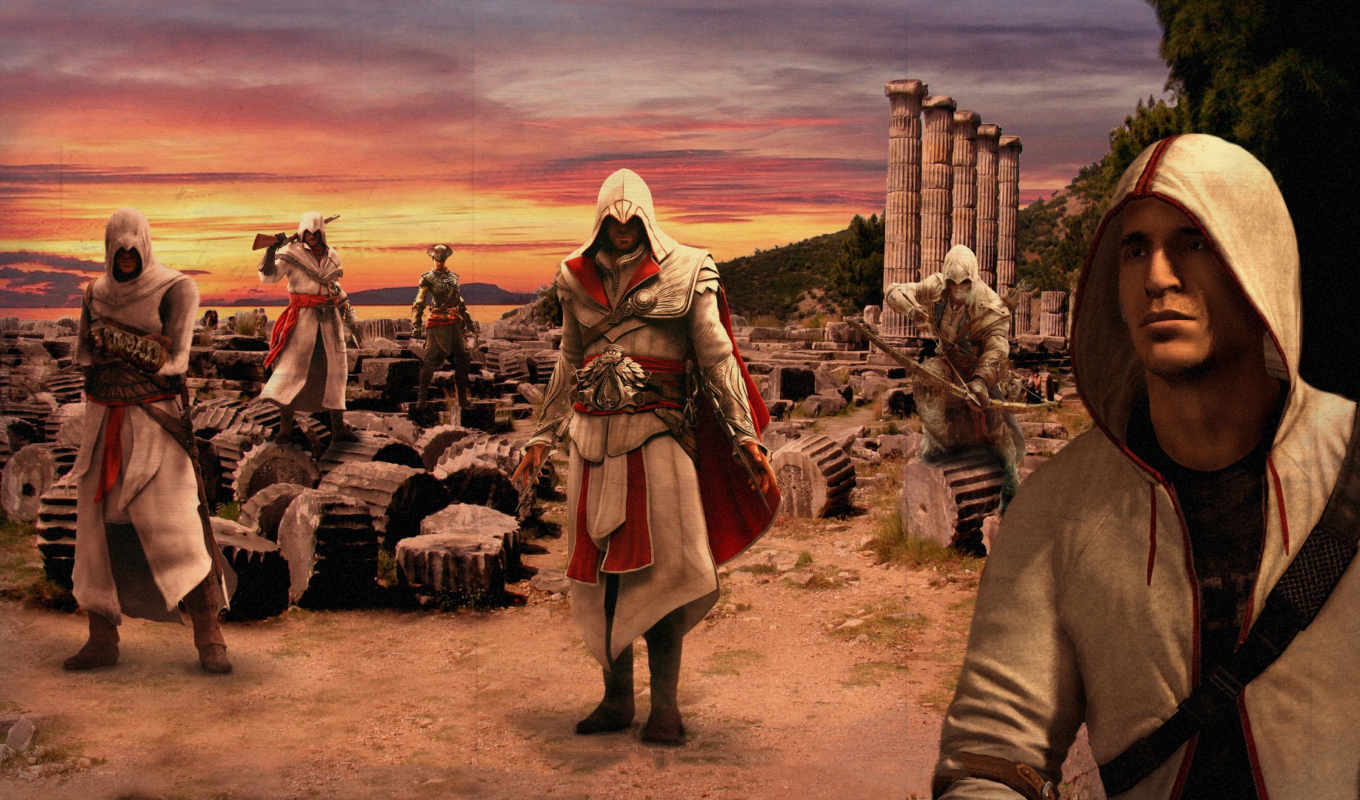 creed, assasins, альтаир, коннор, эцио, дезмонт, free, ezio, assassin, нояб,