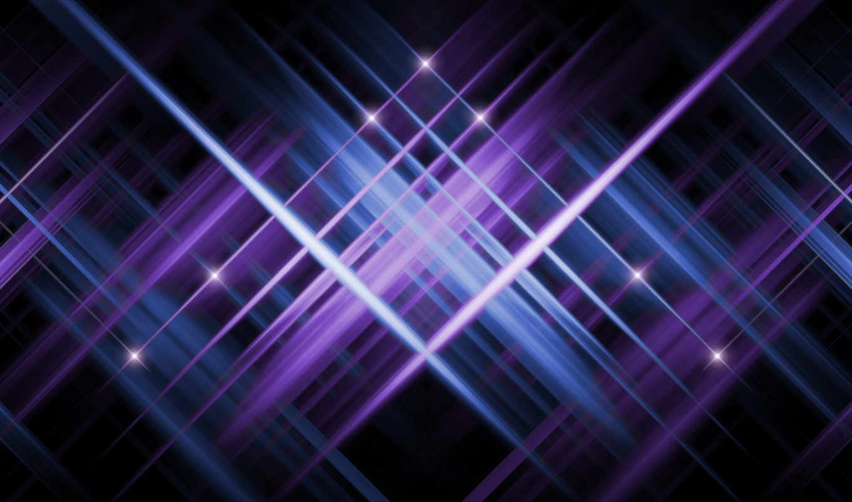 фиолетовый, звезды, темный, синий, отблеск,