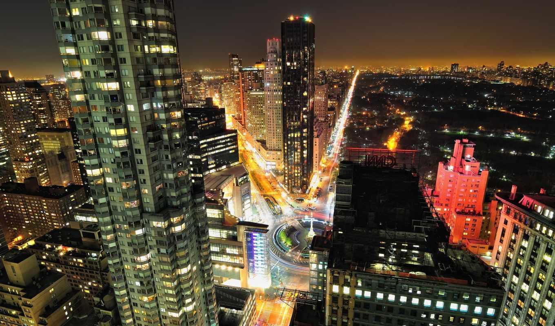 new, york, manhattan, america, нью, города, город, центральный, park, мост, state, империя, ночь, building,
