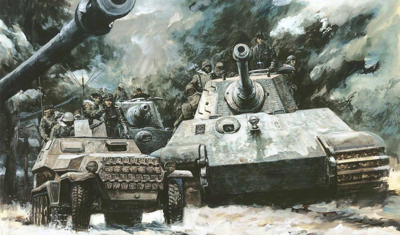 tiger, king, танки,