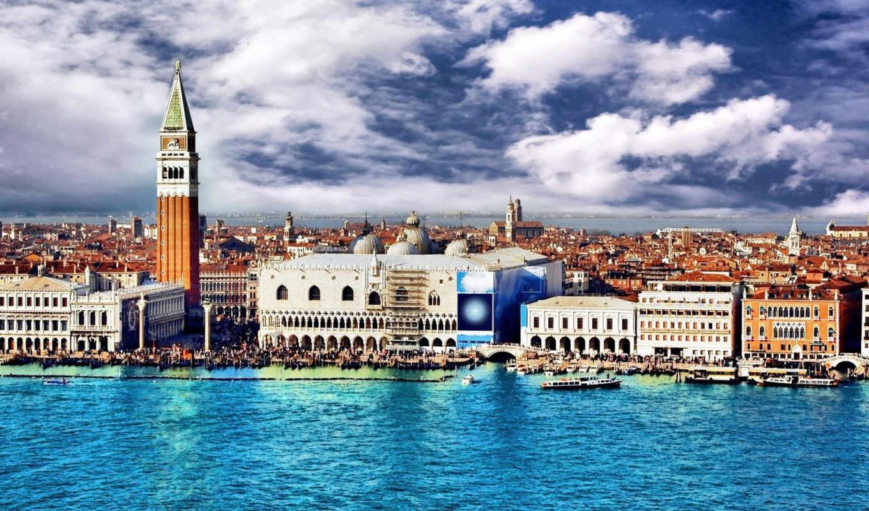 venezia, italy, город, water,