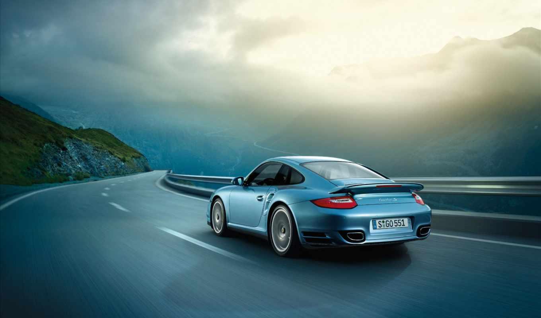 дорога, porsche, скорость, драйв, взгляд, cayman, авто, машина, картинка,