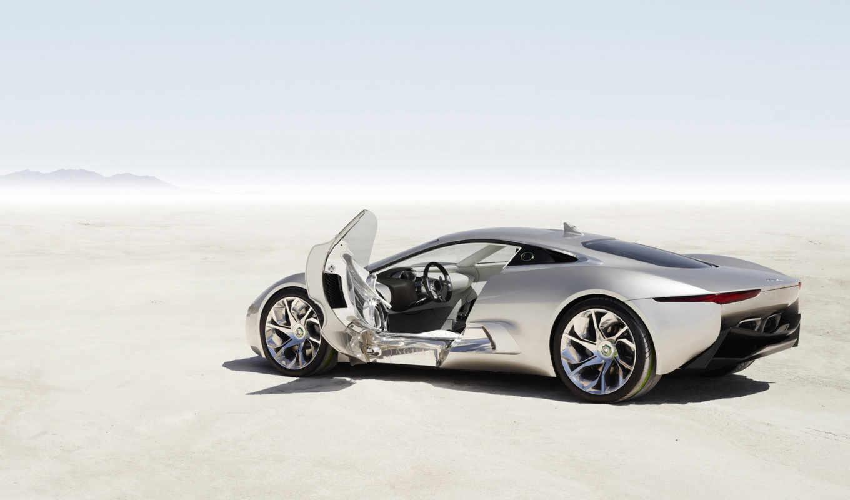 концепт, jaguar, concept, futura, камера, the, фот