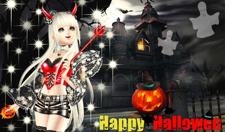 halloween, банка, бесплатные, праздники, чертовка, grandwallpapers, фоны, заставки,