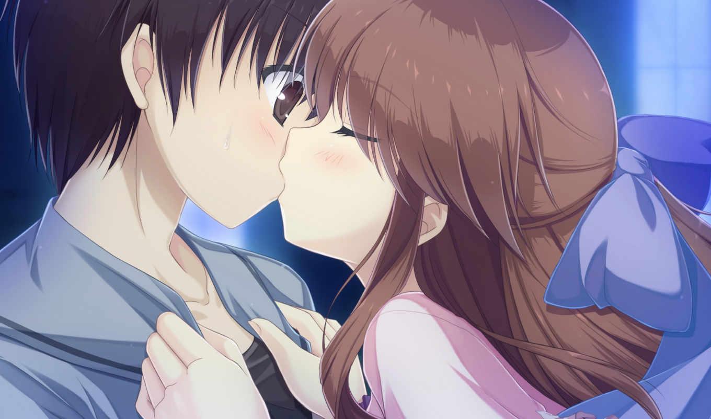 anime, mizu, patisserie, miyako, kanda, mari, fav, девушка, поцелуй,