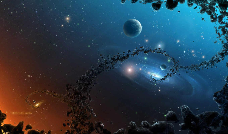 cosmos, планеты,