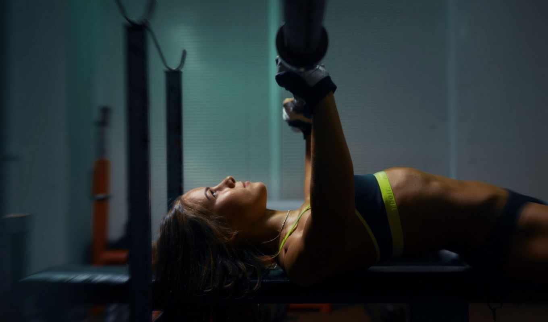 девушка, пресс, спорт, упражнений, красивые, фитнес,