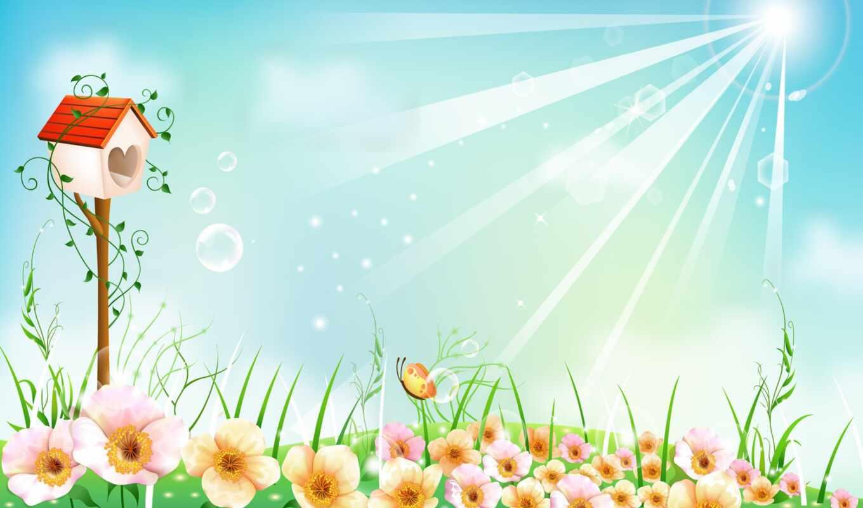 фон, питомник, detskii, картинка, see, garden, красивый, презентация