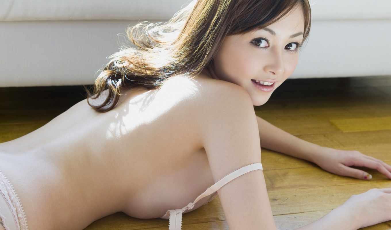 ,девушка, азиатка, большая грудь,