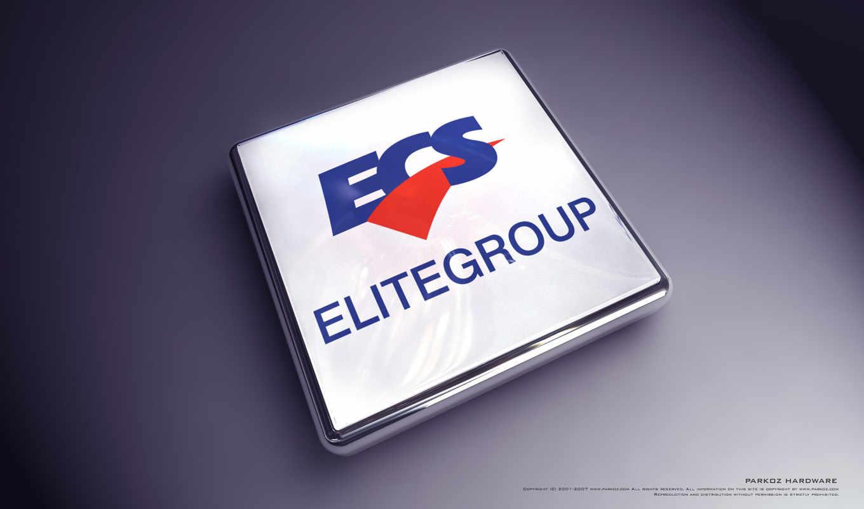 ECS, лого, 3Д