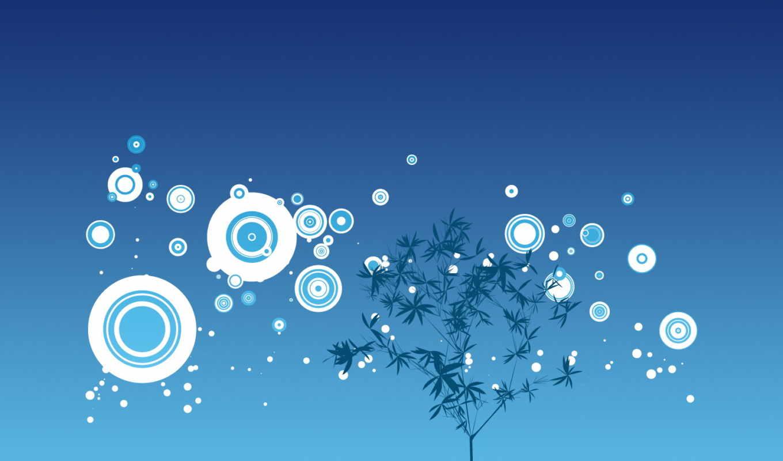 дерево, круги, рисунок, синее, around, дек,