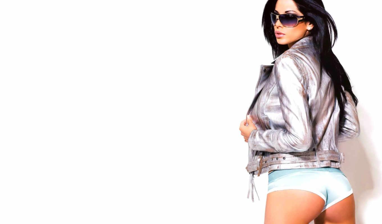 yespica, aida, попа, девушка, куртка, белый, очки, еспика,