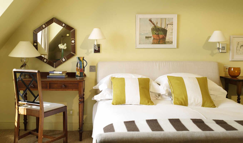 столик, книги, зеркало, стул, лампа, home, bed, room, дизайн, decor, интерьер, decorators, wall,