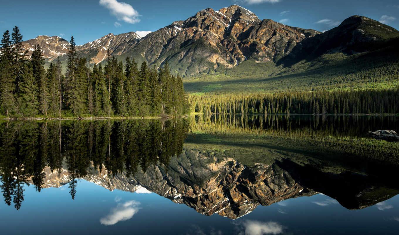 мб, природа, облака, горы, небо,