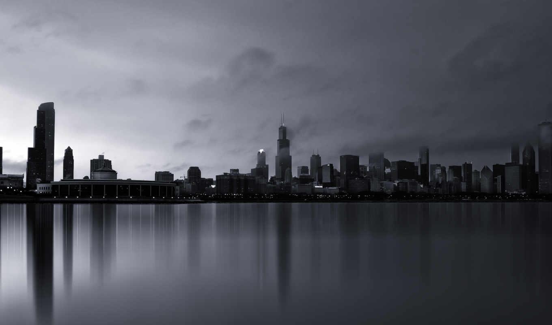 город, chicago, america, города, сша,