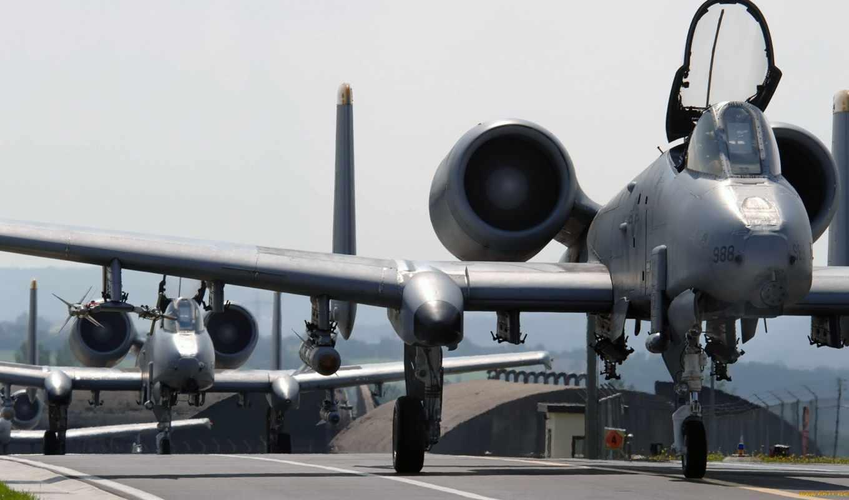 warthog, thunderbolt, air, самолёт, fairchild,