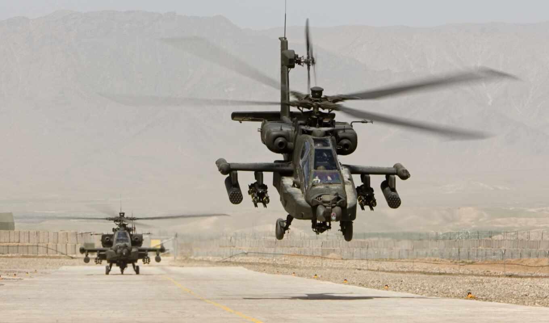 ah, apache, вертолет