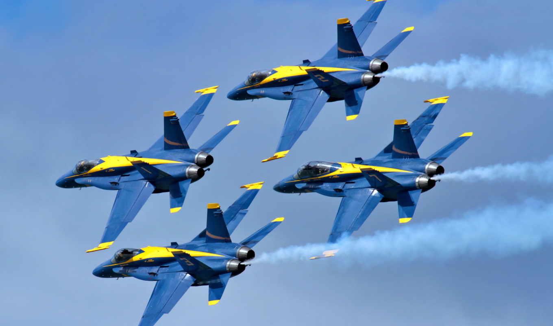авиация, angels, blue, самолеты, количество,