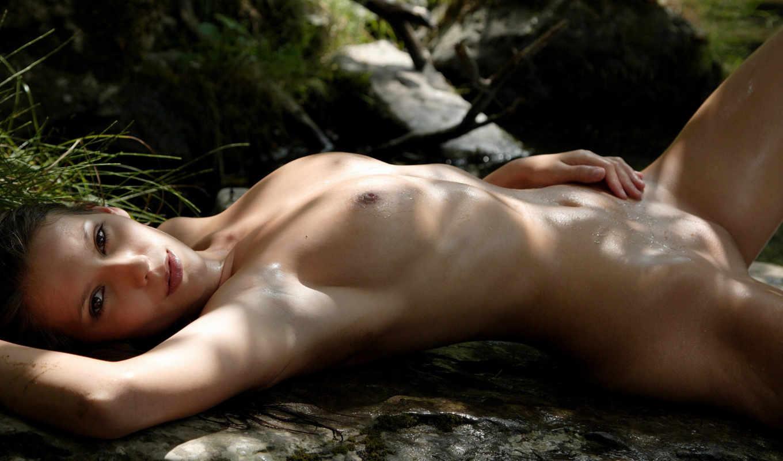 грудь, соски, ссылка, эротика, река, sexy, ножки, ручей, ангела, девушки,
