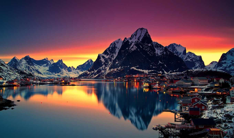 norwegian, гора, сказочный, country, эти, see, еще, fjord