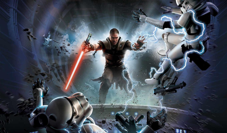 star, wars, force, unleashed, game, игры,