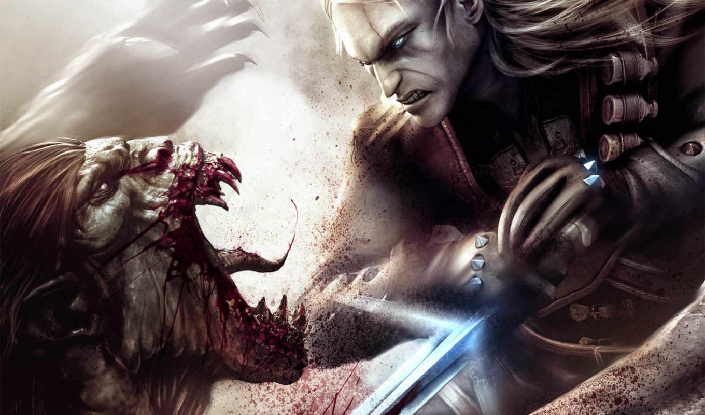 witcher, реальном, размере, её, просмотреть, картинку, монстр, игрой, чтобы, меч, hell, plan, mocoloco, arka, фэнтези,