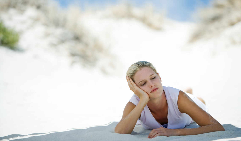 медитация, девушка, спать, медитации,