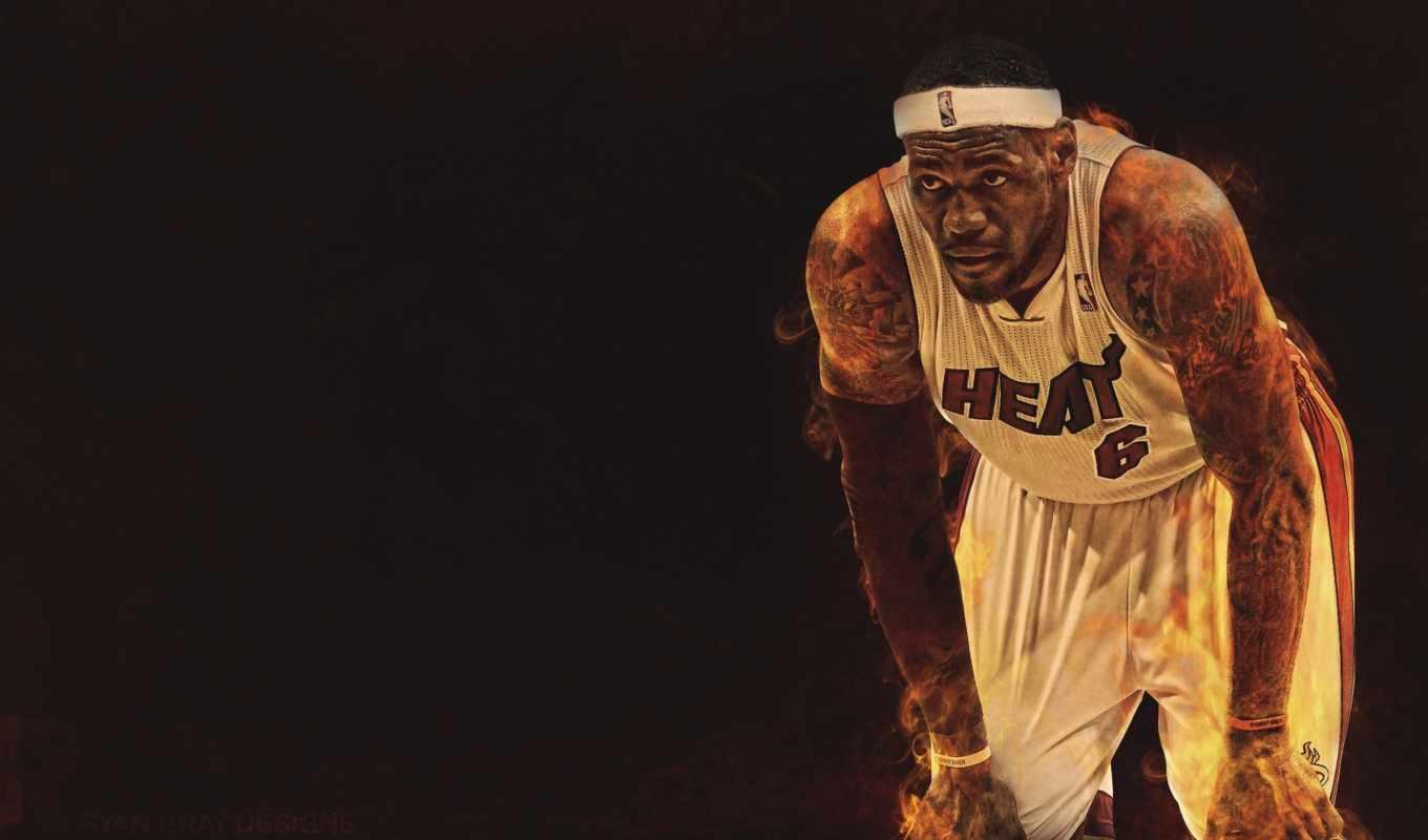 баскетбол, nba, буллз, взгляд, категория,