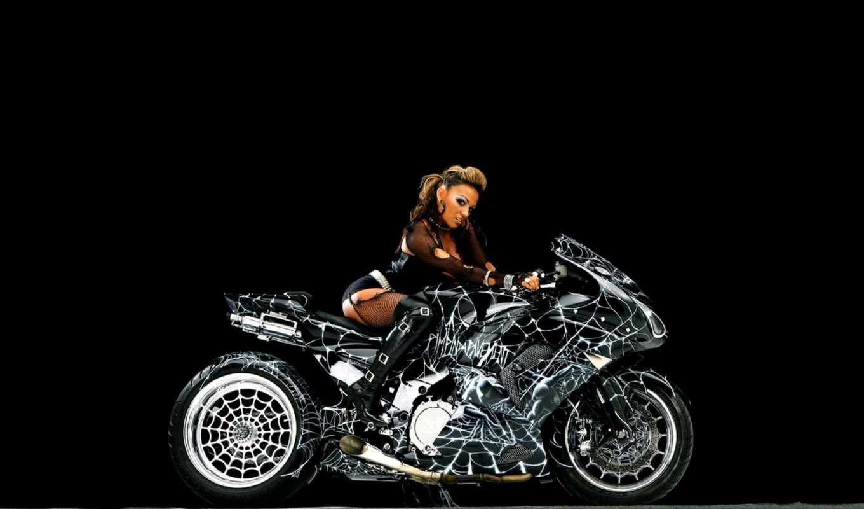 совершенно, мотоцикл, web, телка, паук, мотоциклы, мотик,