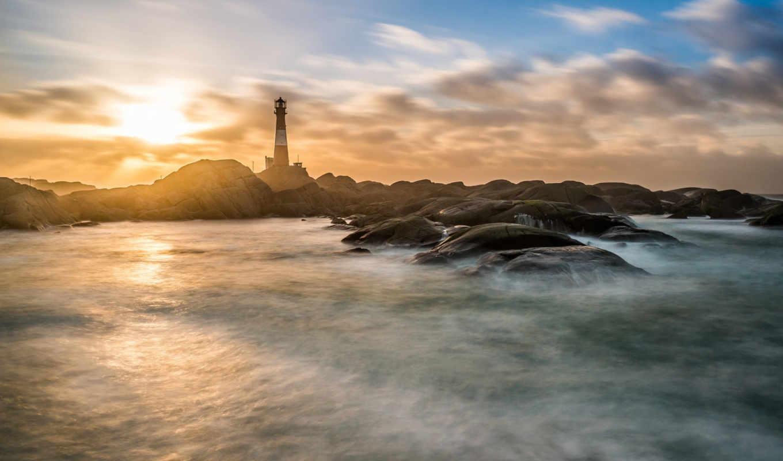 маяк, priroda, скалы, пейзажи -, telefon, категории, more,