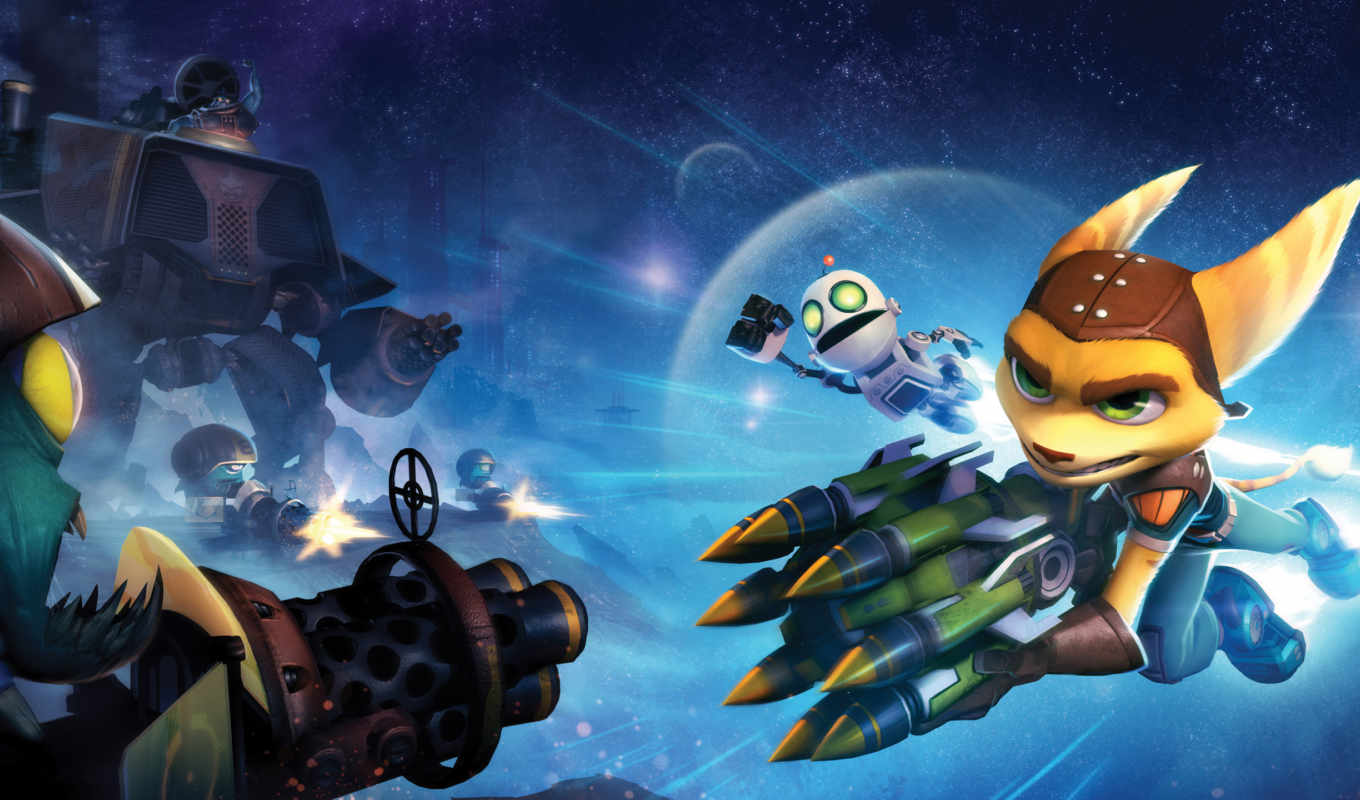 ratchet, clank, movie, full, game, insomniac, frontal, games, сила,