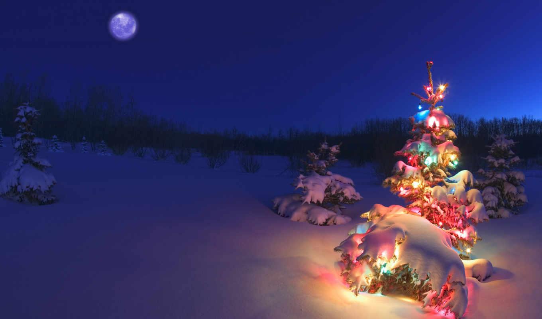 christmas, огни, снег, new, free, год,