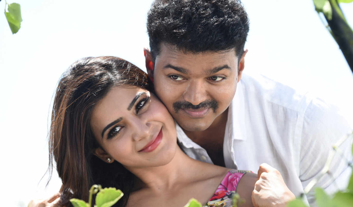 theri, samantha, vijay, movie, amy, джексон, stills, песнь,