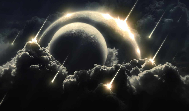 облака, iphone, sun, дождь, space, fantasy, earth, планета, outer, planets, марта, two, similar, clouds, космоса, hell, steps, атака, метеоритный, starfall, астероидная, meteor, solar,