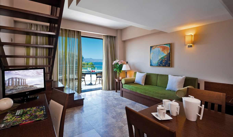 platanias, hotel, beach, porto, zobacz, with,